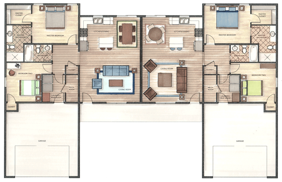 Summerland South - Floor Plan